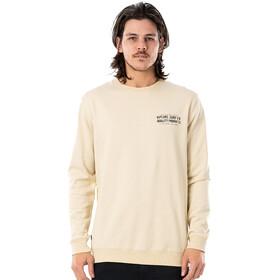 Rip Curl Garage Crew Sweater Men, beige